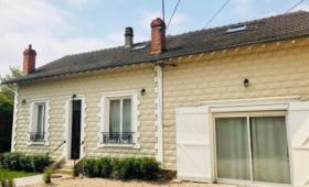 Ravalement de façade d'une maison - Région Parisienne